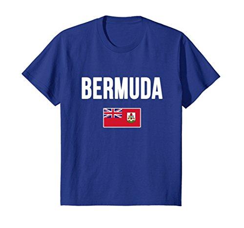 Royal Bermuda (Kids Bermuda Flag T-shirt 10 Royal Blue)