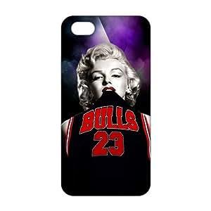 diy zhengCool-benz Bulls 23 flying man Jordon 3D Phone Case for iphone 5c/