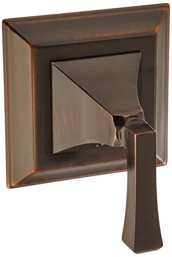KOHLER K-T10423-4V-2BZ Memoirs Stately Valve Trim with Deco Lever Handle for Volume Control Valve, Oil-Rubbed Bronze ()