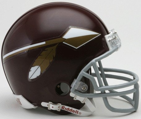 Riddell NFL Washington Redskins 1965-1969 Throwback Replica Vsr4 Mini Football Helmet 1969 Riddell Mini Replica