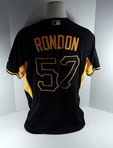 2017 Pittsburgh Pirates Jorge Rondon  57 Game Issued Spring Training Jersey  - Game Used MLB Jerseys at Amazon s Sports Collectibles Store 1cfd392e1
