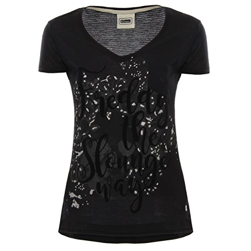 slo wt87l03n01 F7 shirt n Freddy T Black Donna HqR5TWw74