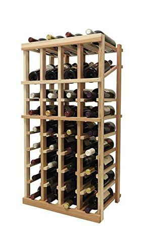 3 ft. 4-Column Wine Rack (Premium Redwood - - 4 Premium Column