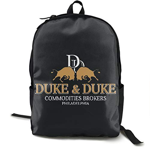 Aleven Trading Places Duke And Duke Casual Fashion Lightweight Unisex School College Schoolbag Pattern Shoulder Backpack