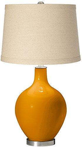 Carnival Oatmeal Linen Shade OVO Table Lamp