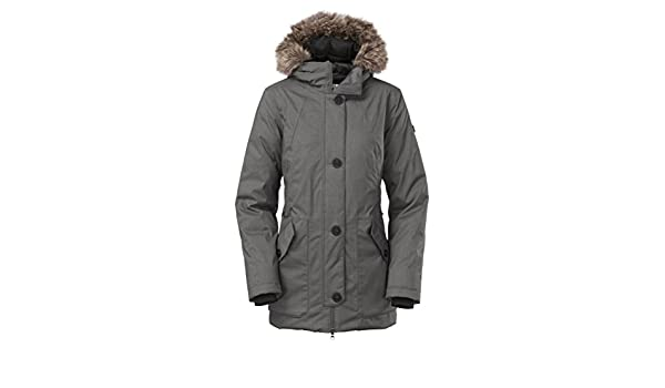 40cda9b9f The North Face Mauna Kea Parka Womens Graphite Grey M©lange XS ...