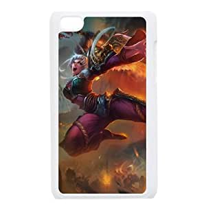 iPod Touch 4 Case White League of Legends Dragonblade Riven JU3583769