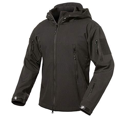 Nanshijiake Soft Shell Tactical Fleece Warm Military Camouflage Waterproof Jackets Coat