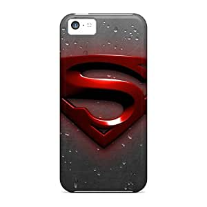 Premium Superman Hd Covers Skin For Iphone 5c