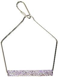 Penn Plax 3-Inch Trimmer Plus Wired Frame Cement Bird Swing