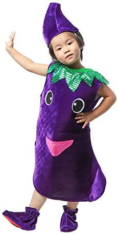 Traje verduras frutas niños Ropa de fiesta de berenjena para niños Disfraces para Halloween Cosplay Vacaciones navideñas Niños pequeños Niños Chicas: Amazon.es: Bricolaje y herramientas