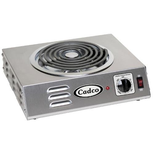 Cadco CSR-3T Countertop Hi-Power Single 120-Volt Hot Plate ()