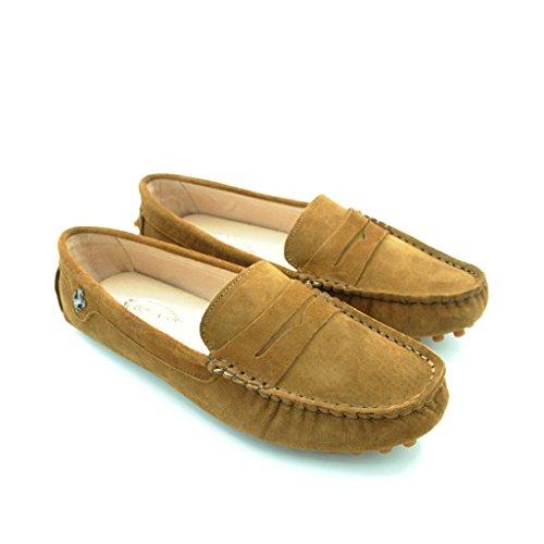 Meijili - Sandalias mujer, color marrón, talla 35