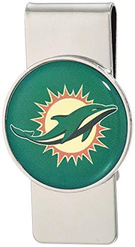 aminco NFL Miami Dolphins Domed Money Clip