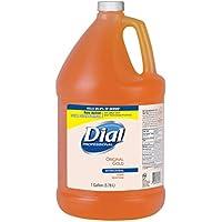 Liquid Dial Liquid Gold Antimicrobial Soap, Floral Fragrance, 1 Gal Bottle