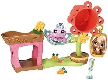 Littlest Pet Shop Hasbro Casita De Juegos Jardin Casa De Juguete
