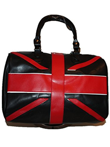 Bandera Bolso Negro Recorrido Union Jack De Británica Hd06 Moda Del Lona La Atraco Toda Hombro OgqXO
