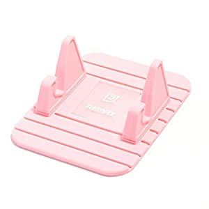 REMAX Brand Moibile Phone Anti Slip Mat Holder Bracket Aobiny Cell Phone Stand For SmartPhone (Pink)