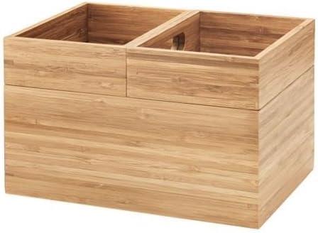 Caja de DRAGAN -, 3 unidades, almacenamiento de bambú para baño: Sarah Fager: Amazon.es: Hogar