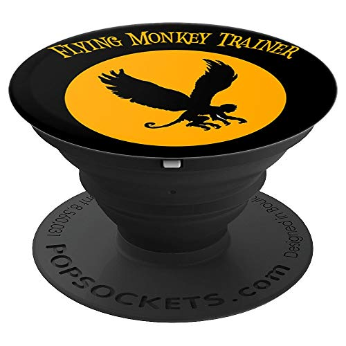 Distressed Trainer - Flying Monkey Trainer Grunge Distressed Halloween 2019 PopSockets Grip and Stand for Phones and Tablets