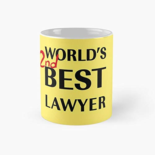 Best Lawyer 110z Mugs, Funny Mugs, 11 Ounce Ceramic Mug, Perfect Novelty Gift Mug, Tea Cups, Funny Coffee Mug 11oz, Tea Mugs ()