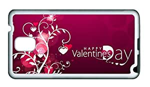 Sale Samsung N9000 most protective cover Vector Valentine s Day hearts TPU White for Samsung Note 3/Samsung N9000