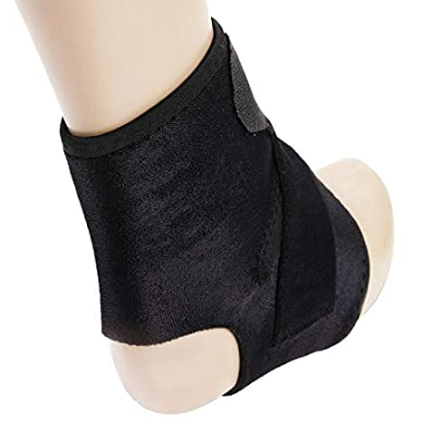 BeesClover 19.5cm Elastic Support Ankle Brace Protector Strap Sprain Ankle Safety Guards for Sports Foot Protector