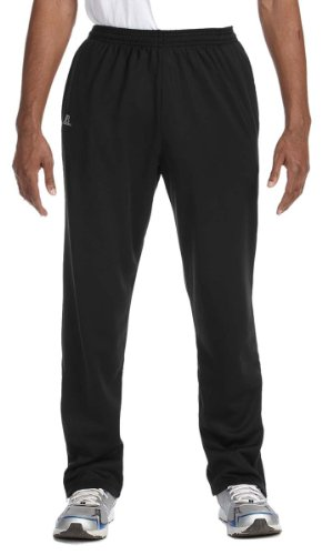 Russell Athletic Men's Technical Performance Fleece Pant, Black, Large