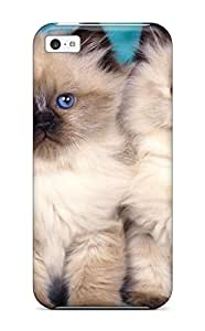 New UbVrljH4495dNPJn Cat Skin Case Cover Shatterproof Case For Iphone 5c by Maris's Diary