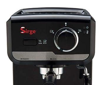 Sirge - Máquina para café expreso y capuchino en polvo y monodosis de papel Lussy: Amazon.es: Hogar