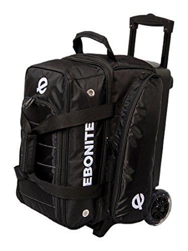 Ebonite Eclipse Double Roller Bowling Bag Black