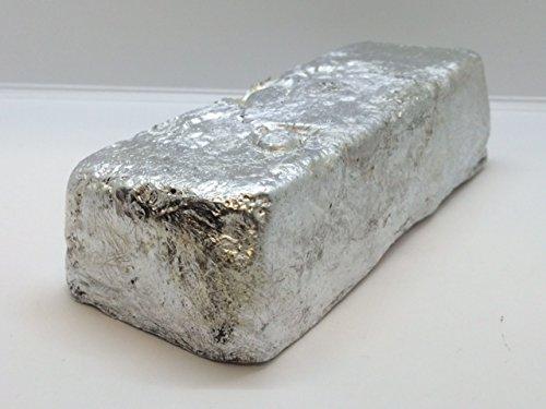 Aluminum Ingot. 5 Pounds 3000 Series Aluminum - Iron Ingot Bar