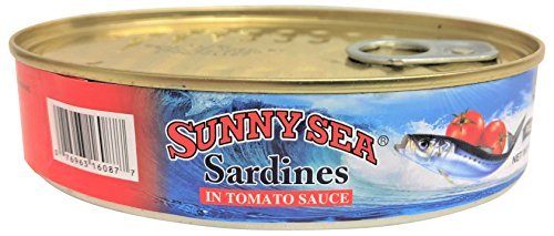 Sunny Sea Sardines in Tomato Sauce, 7.05 Ounce (Pack of 24) by Sunny Sea