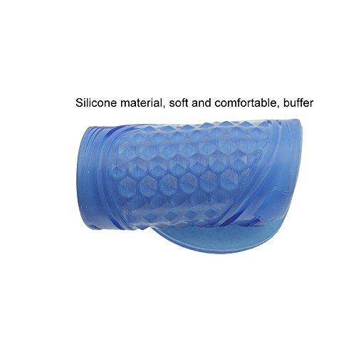 Profesional Integral Transpirable Suave Confortable Masaje Plantillas de Gel con Cubierta de Terciopelo, Máximo Confort para Ocio Caminar Correr o Ir de Excursión 26.5cm 26.5cm