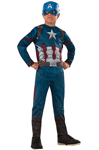 Rubie s Costume Captain America  Civil War Value Captain Ame (Large Image)