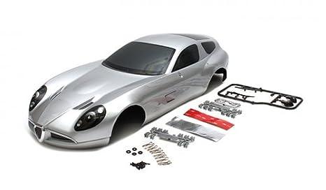 killerbody # 48300 Alfa Romeo TZ3 Corsa cuerpo Shell plata (impreso ...