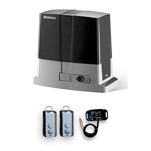 Beninca Bull 624R Automatic Slide Gate Opener CPanel, Receiver, 2 remote Control