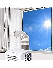 300 cm/3 m Hot Air Stop Yinong-eu raamafdichting voor mobiele airconditioners en afvoerdroger, luchtontvochtiger, AirLock voor ramen, dakramen, vleugelramen