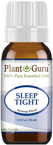 (Sleep Tight Essential Oil Blend 10 ml 100% Pure Undiluted Therapeutic Grade. Good Night Aid, Relaxation, Depression, Stress, Anxiety Relief, Mood, Uplifting, Calming, Aromatherapy)