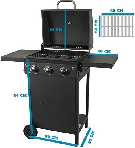 ACTIVA Toledo Barbecue à gaz