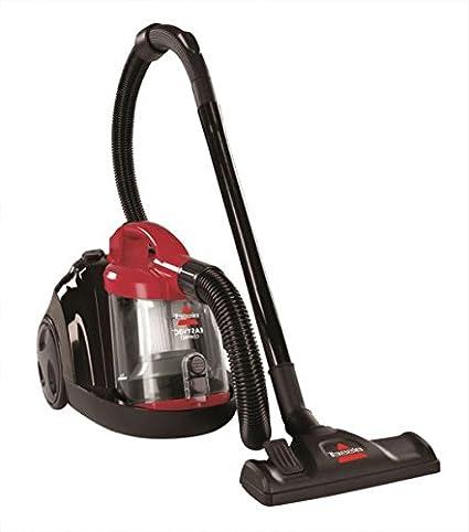 Bissell 1273K 1500W Easy Cylinder Bagless Vacuum Cleaner Red Black