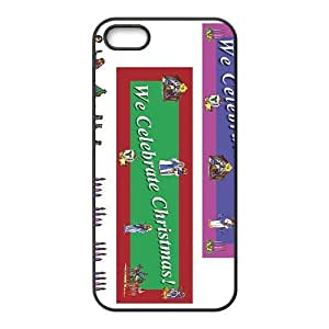 Christmas Celebrating Picture Hight Quality Plastic Case for Iphone 5s
