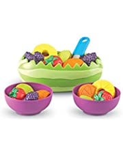 Learning Resources LER9268 New Sprouts Fresh Fruit Salad Set (18 Piece)