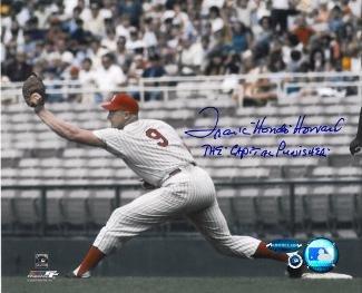Signed Frank Howard Photo - 8x10 Hondo Capital Punisher Hologram - Autographed MLB Photos