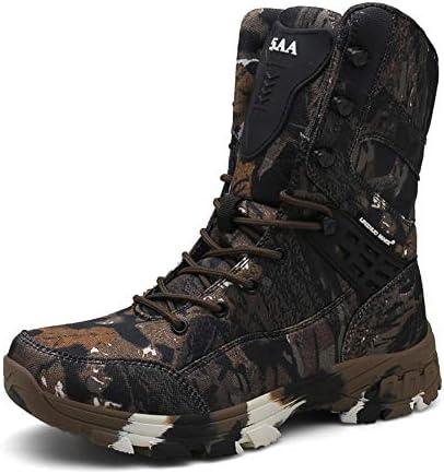 ミッドチューブメンズブーツハイトップ軍用ブーツファッション迷彩スポーツアウトドアブーツメンズツーリング靴