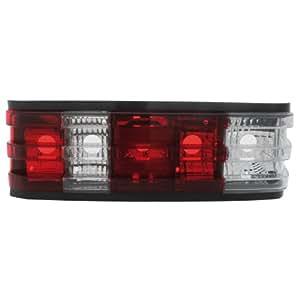 Dectane RMB06RC - Faros traseros LED para Mercedes Benz W201 82-93 190E, color rojo y transparente
