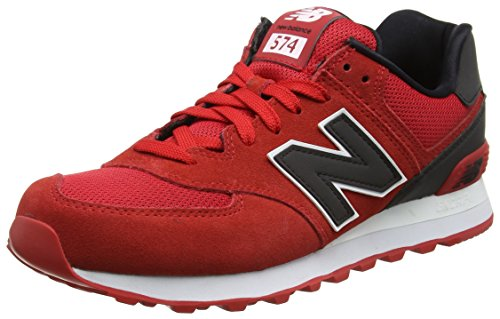 New Balance Herren Ml574cna Sneaker Red/Black