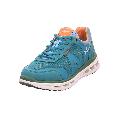 Mujer Para de Zapatos Allrounder turquesa Cordones Mephisto by FxnqRSzXwY