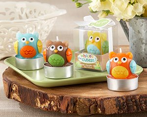 Whooo's the Cutest Baby Owl Candle (24 Sets of 4 Assorted)