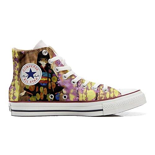 Star blumen Fata Customized Hi All Schuhe fantasy Converse Handwerk personalisierte Schuhe w8zqFF